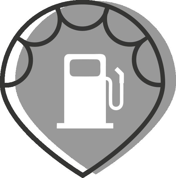 Marker Estacións de servicio e combustibles