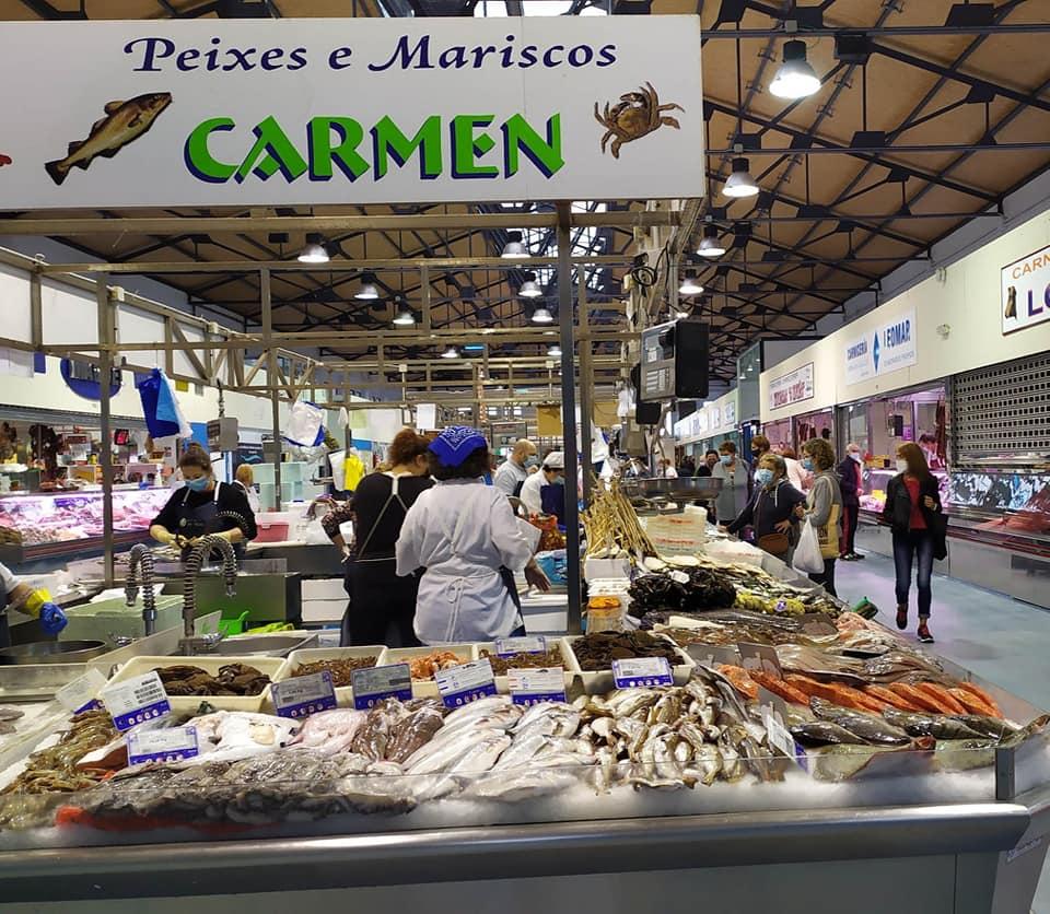 Logotipo Peixes e Mariscos Carmen