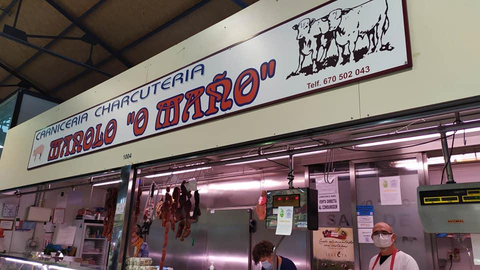 Logotipo Carnicería Manolo O Maño