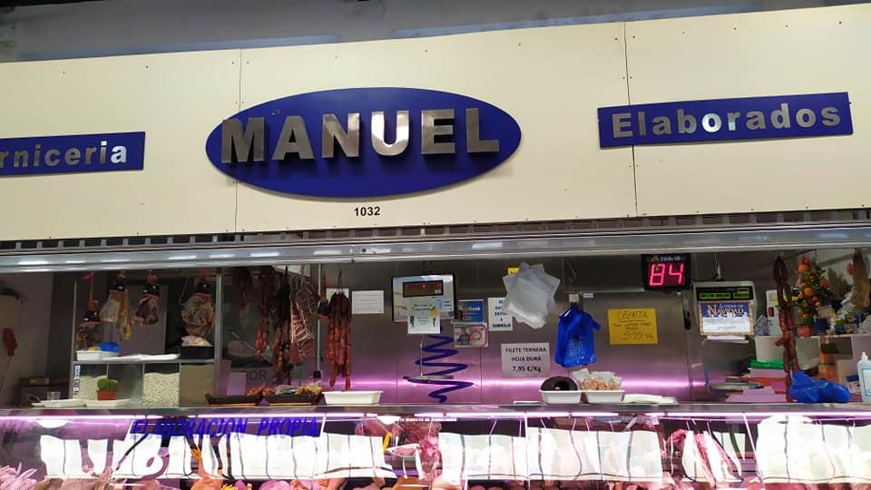 Logotipo Carnicería Manuel