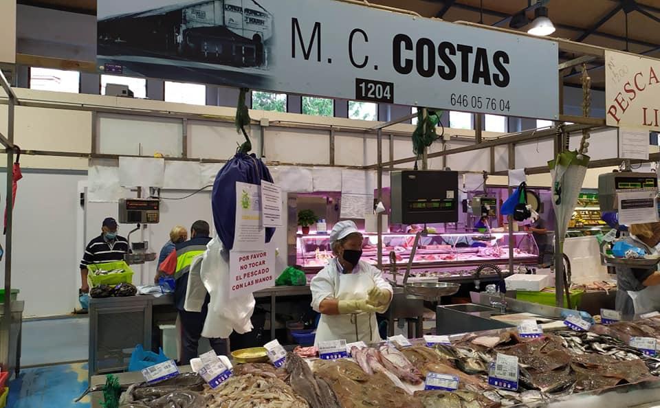 Logotipo Pescados y Mariscos Mª Carmen Costas