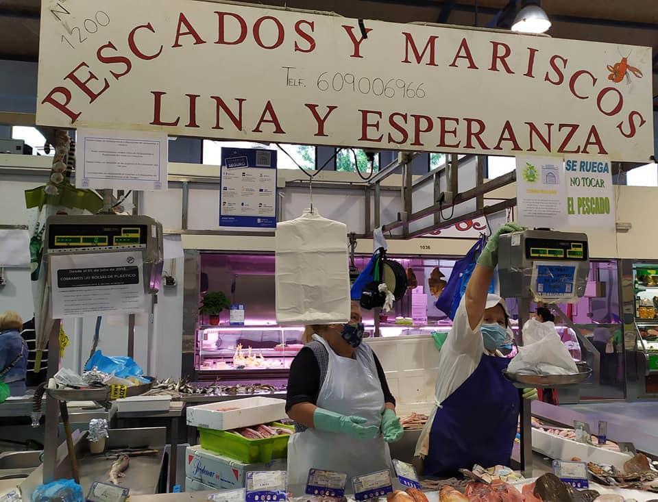 Logotipo Pescados y Mariscos Lina y Esperanza