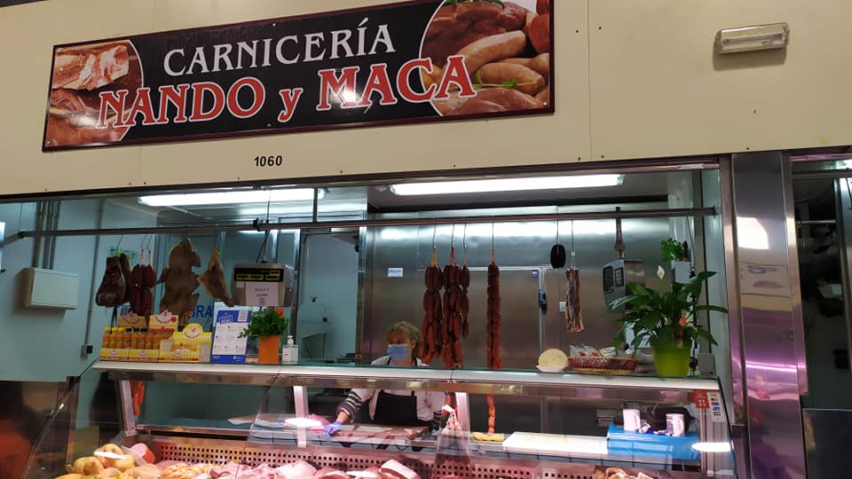 Logotipo Carnicería Nando y Maca