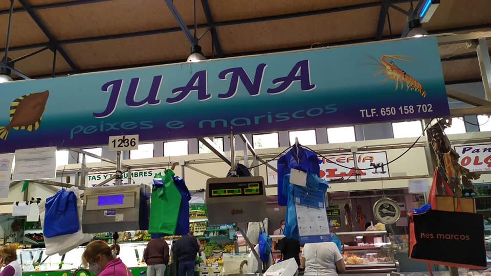 Logotipo Juana Peixes e Mariscos