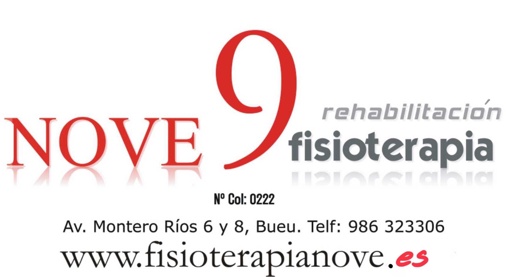 Logotipo CENTRO DE FISIOTERAPIA NOVE
