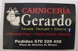 Logotipo Carnicería Gerardo