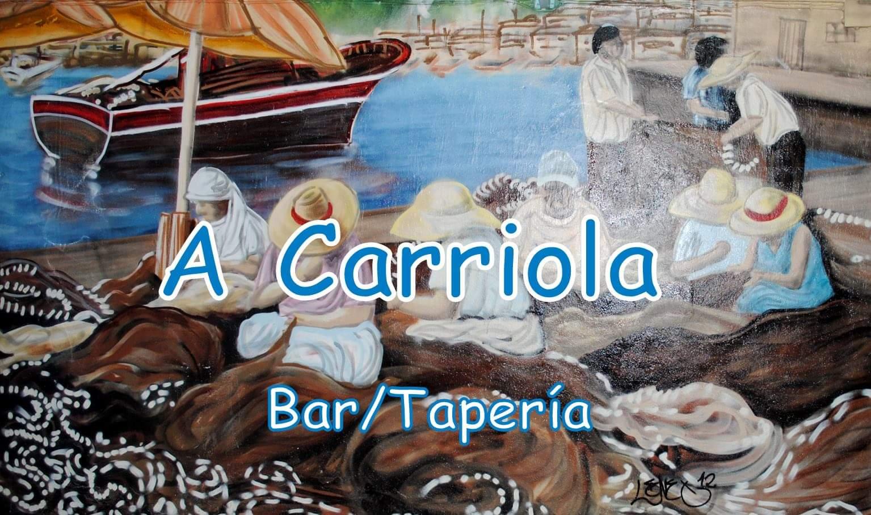 Logotipo Bar/Tapería A Carriola