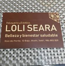 Logotipo Peluquería Loli Seara
