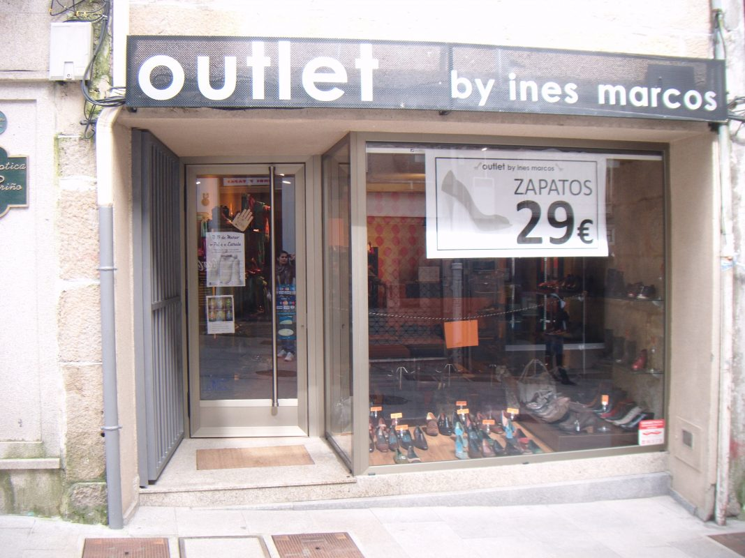Logotipo Outlet Ines Marcos