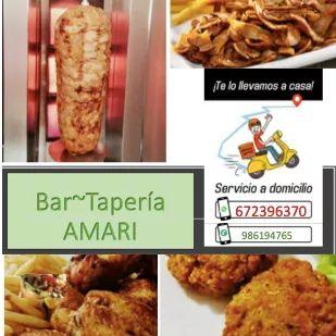 Logotipo Bar-Tapería AMARI
