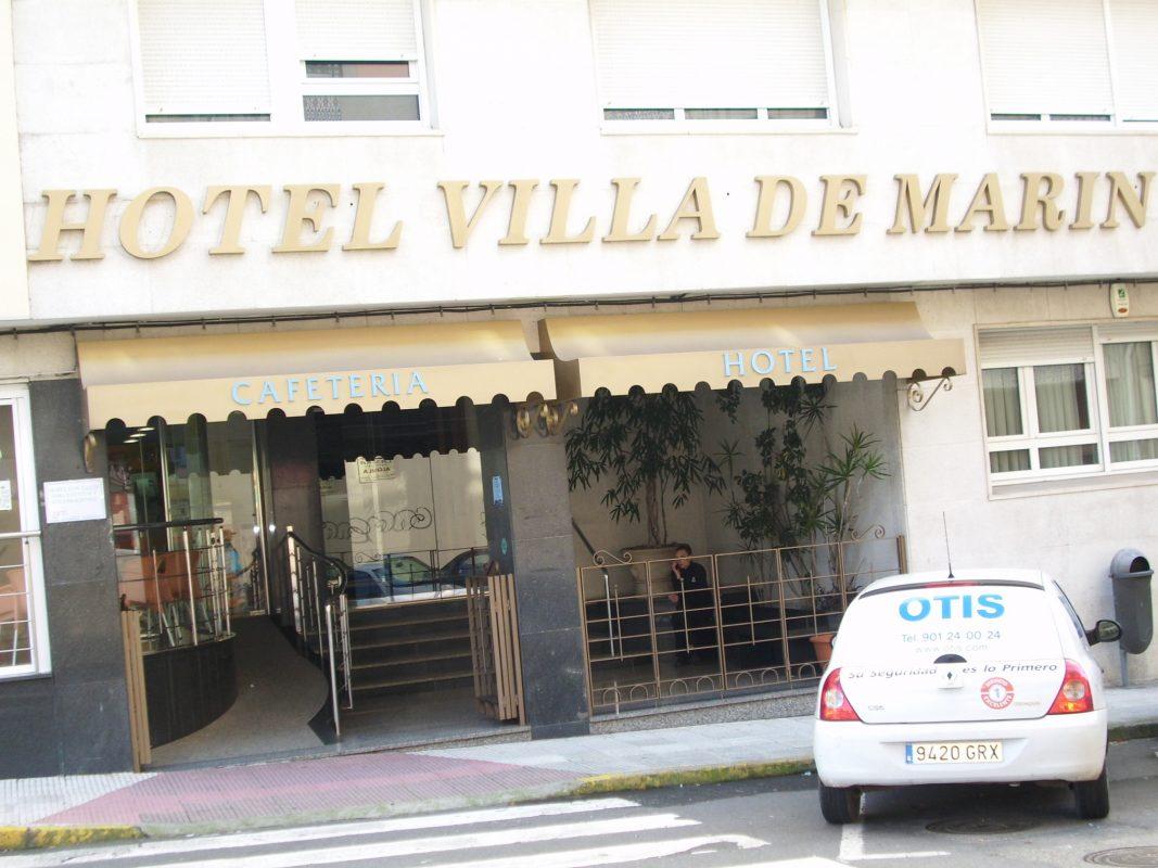 Logotipo Hotel Villa de Marín