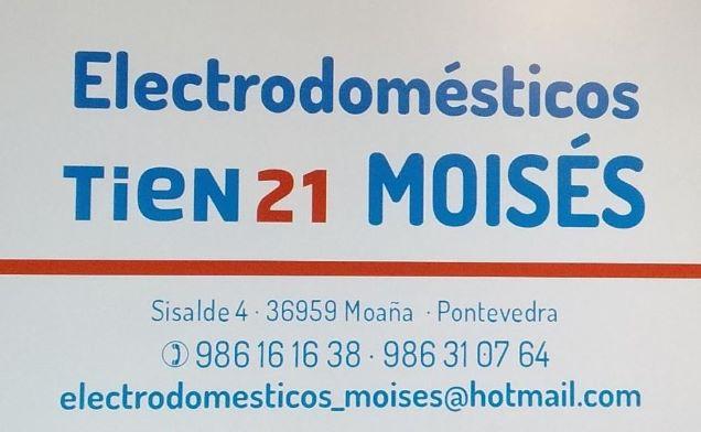Logotipo ELECTRODOMESTICOS MOISES_TIEN 21