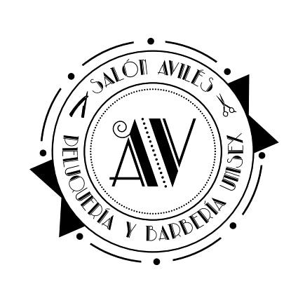 Logotipo SALON DE BELLEZA UNISEX AVILES