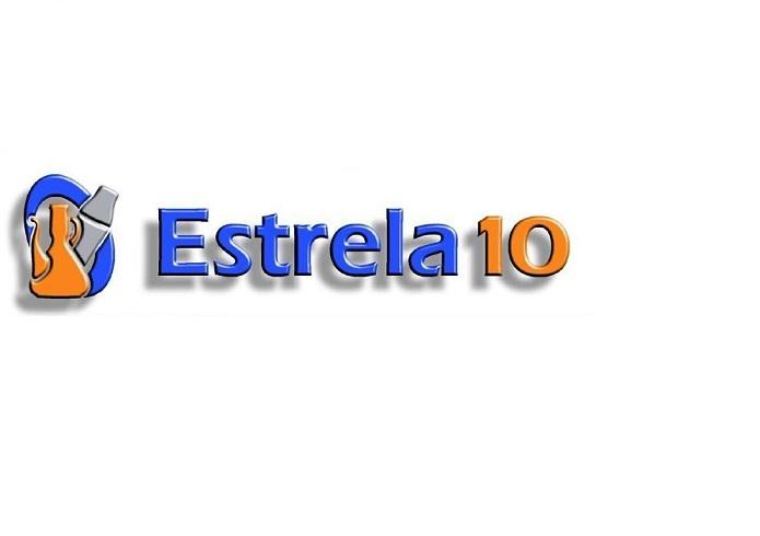 Logotipo Estrela 10