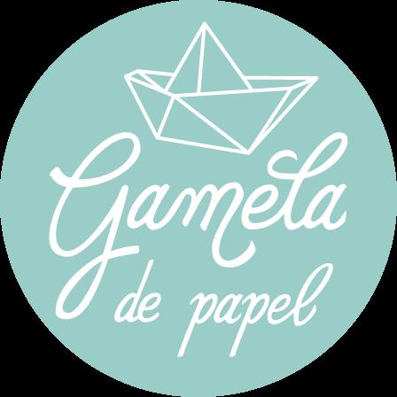 Logotipo GAMELA DE PAPEL