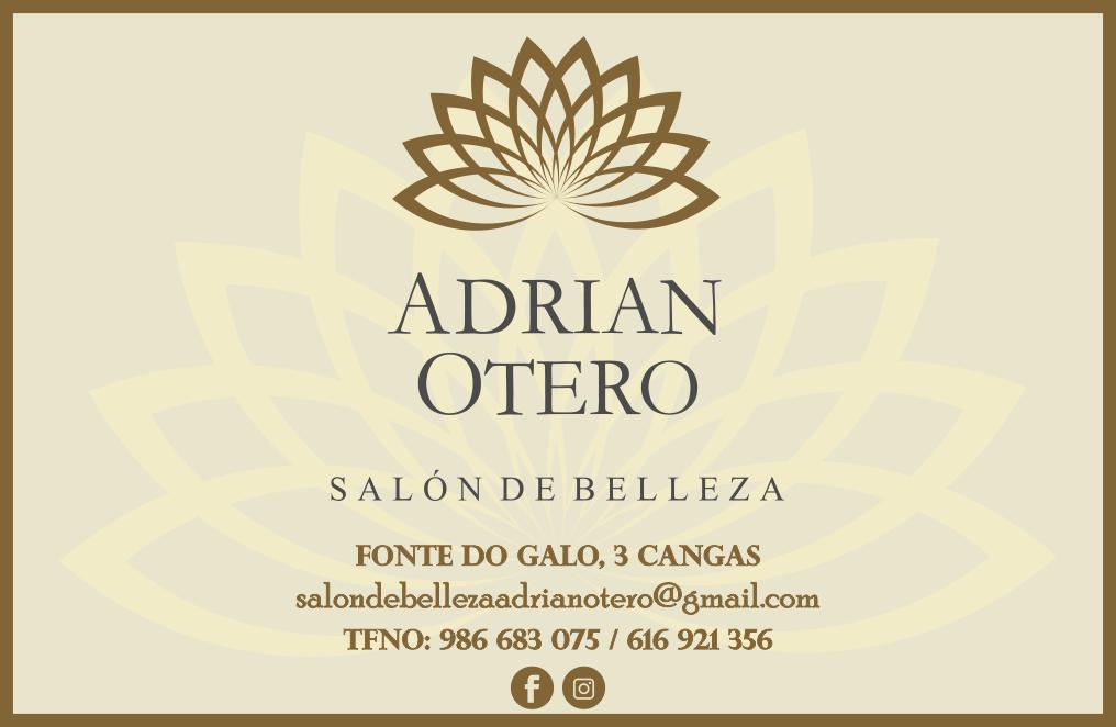 Logotipo Adrian Otero Salón de Belleza