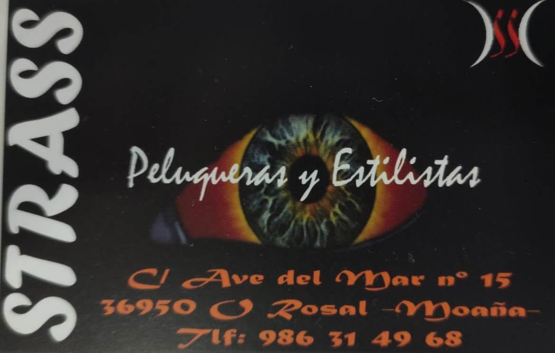 Logotipo PELUQUERÍA STRASS