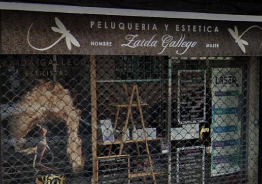 Logotipo Peluquería Zaida Gallego