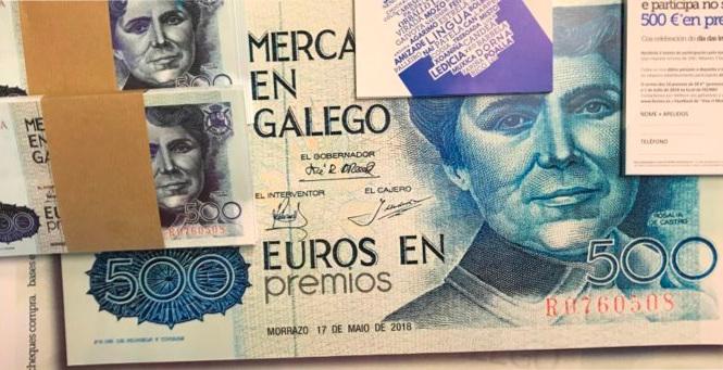 """Comezo da campaña """"Merca en galego"""""""
